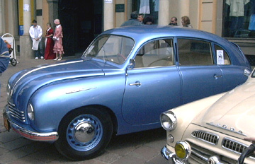 Zdenka a Adrik - Naše svadobné auto