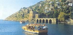 Alanya,Turecko - svadobná cesta