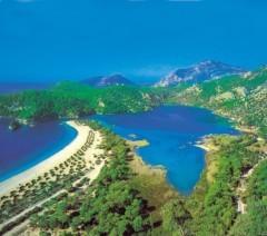 Zdenka a Adrik - Alanya, Turecko - lagúna