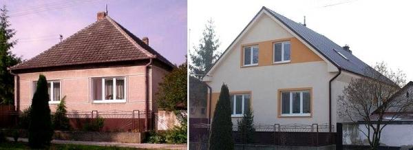 porovnanie Pred - Po rekonstrukcii