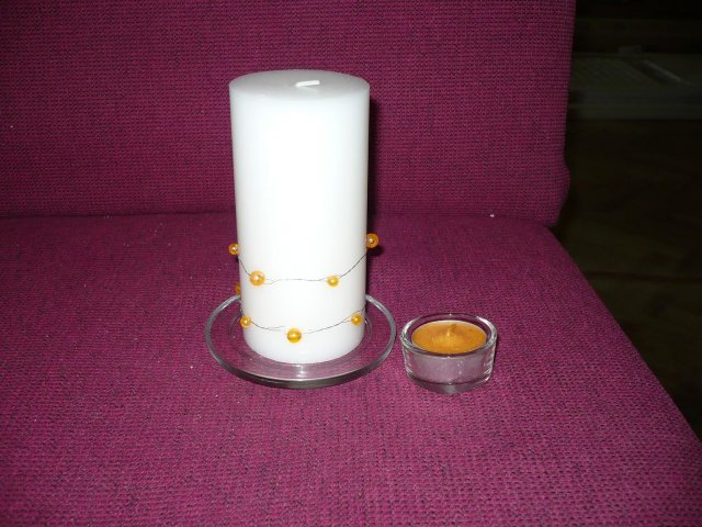 Moje malé predstavy - sviečky