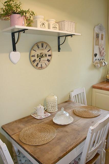 Krásne kuchynské+ jedálenské inšpirácie:) - stale ta ista kuchyna a pri tom vzdy ina :) 1