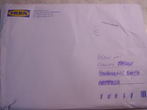 takto ma dnes potesila Ikea :) :) :)