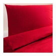 DVALA Posteľné obliečky, červená € 14,99