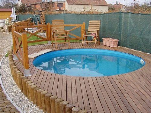 Zatiaľ len inšpirácie - takýto bazénik na leto