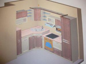 graficky navrh kuchyne