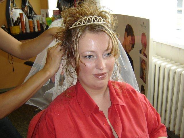 Zuzana a Peter - Make-up a uces