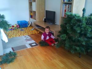 skladanie stromčeka
