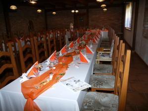 ..svatební stůl...