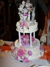 ...hlavní dort...