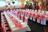 hostina v růžové