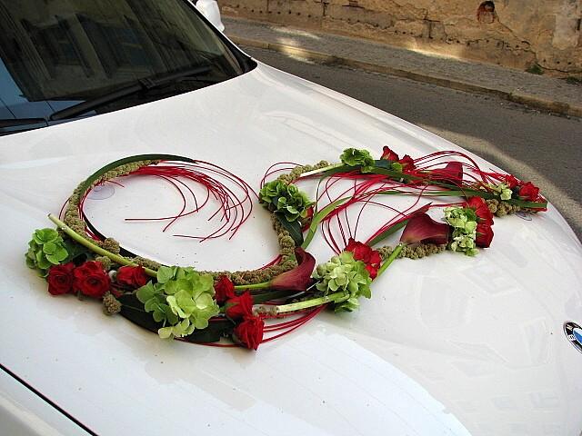 Autocorso něvěsty i ženicha - velmi zajímavé pojetí v letním až podzimním duchu