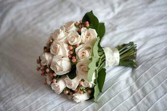 růže, hypericum, salal
