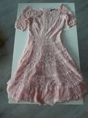 Krajkované šaty s krátkým rukávem Orsay, 34
