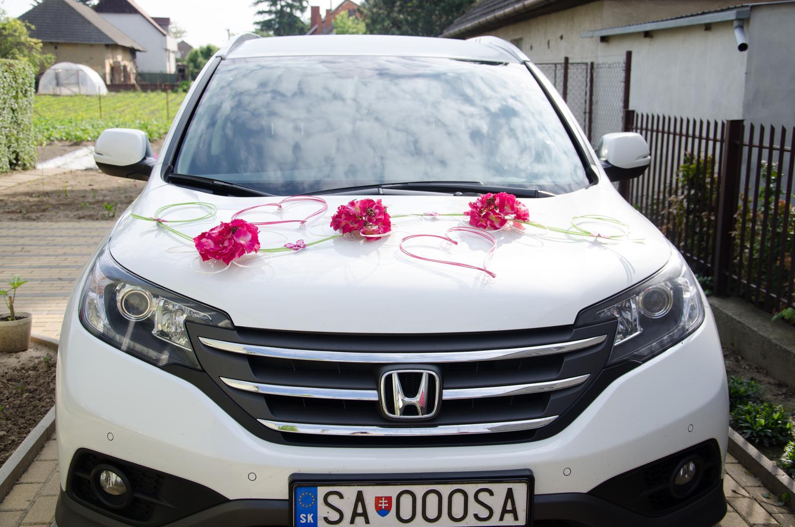 Keď tvorilkujem - Naša svadobná výzdoba auta...