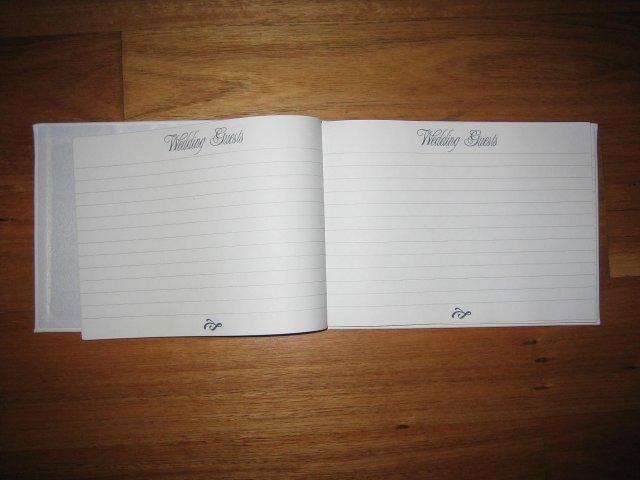 Moje pripravy - kniha hosti otvorena
