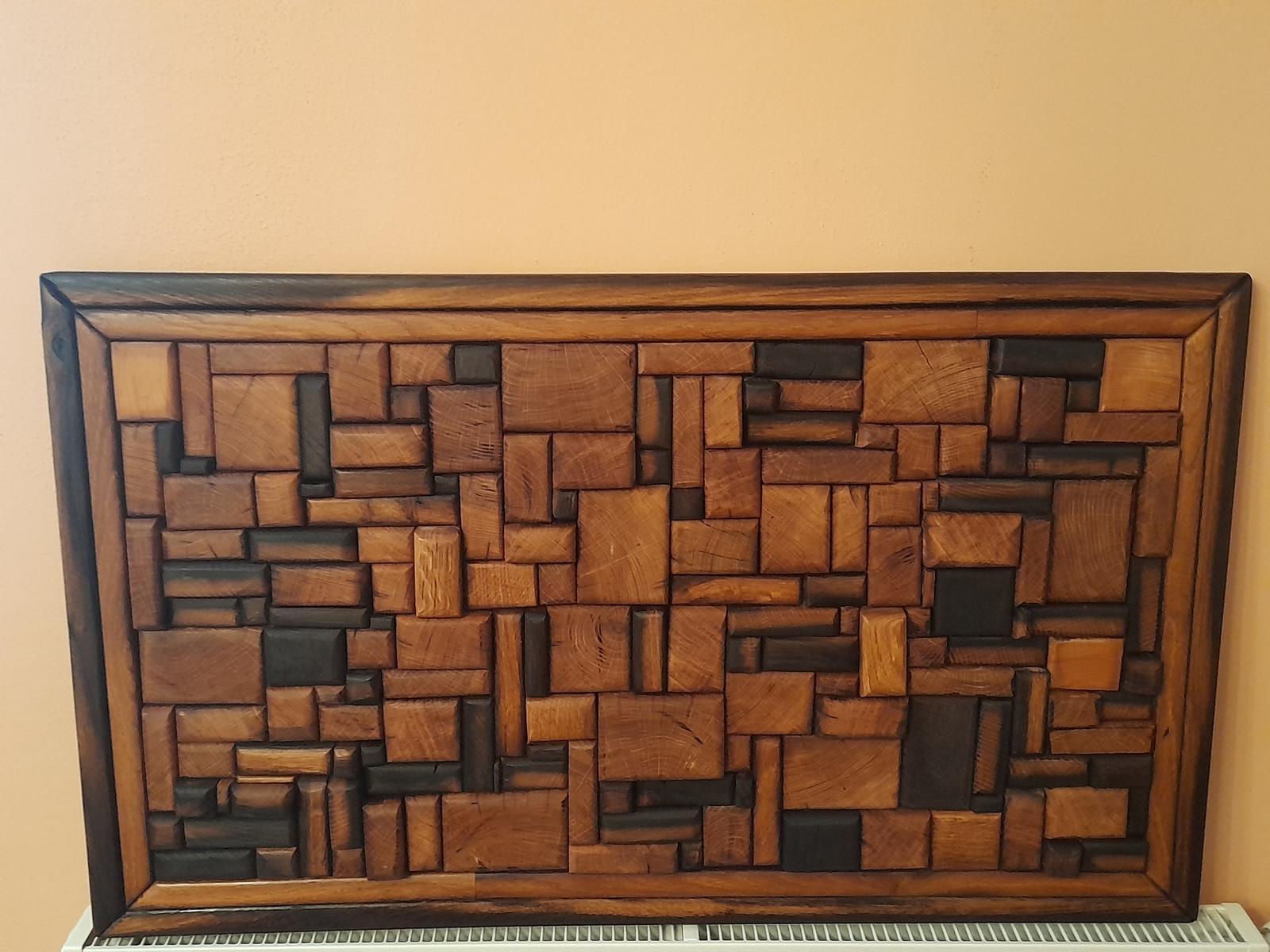 Obraz z dubového dreva - Obrázek č. 1
