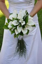 svadobná kytica objednaná