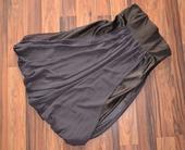Hnědé večerní korzetové šaty, vel 40 - 42, 40
