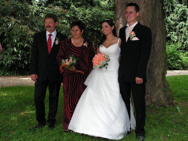 S rodiči ženicha