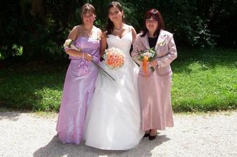 S maminkou a sestřičkou