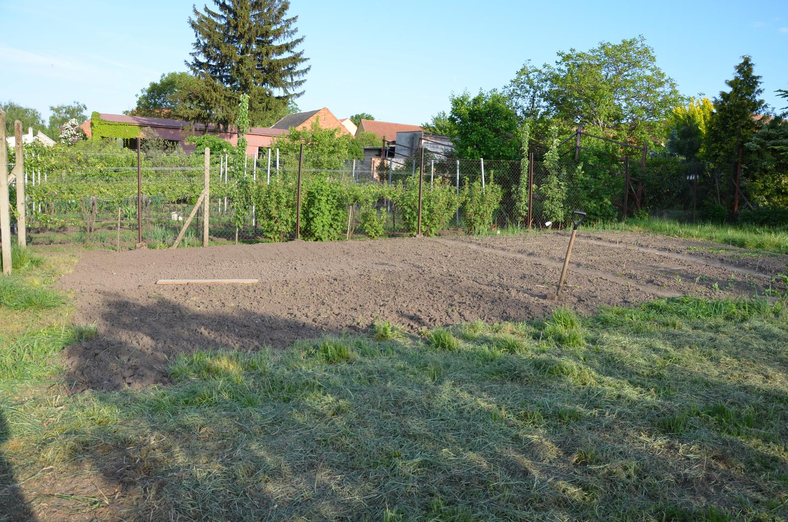 Vysněná zahrada... - Doryto....