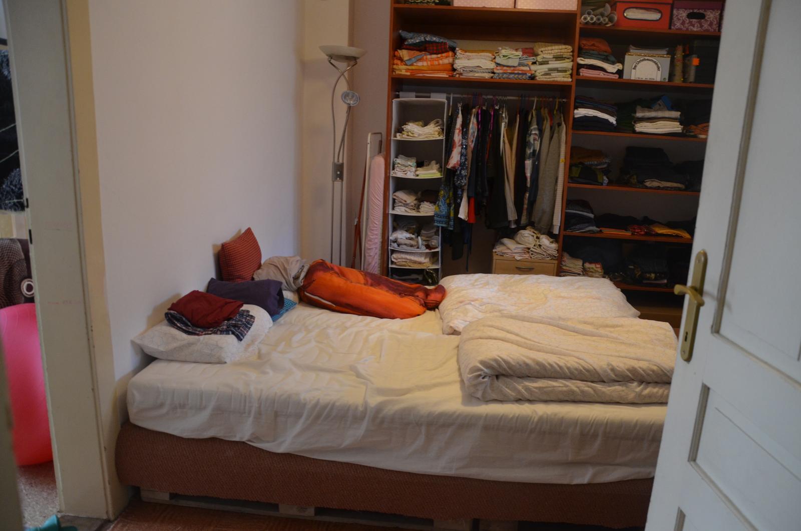Naše barabiznička - ložnice!!!!