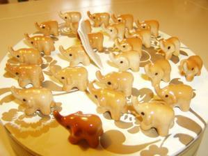 sloník pro štěstí, dáreček pro hosta