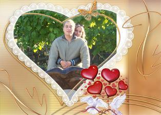 tak to jsme my :-)Tomáš a Radka