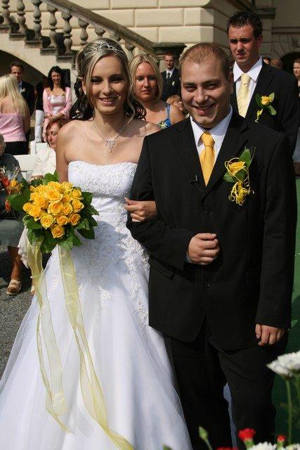 Radka{{_AND_}}Tomáš - nevěsta a ženich
