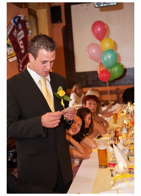 Radka{{_AND_}}Tomáš - svatební přání četl svědek