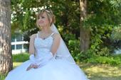 Svadobné šaty s doplnkami 34-36-38, 36