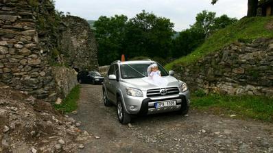Příjezd nevěsty na hrad