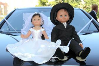 Auto novomanželů