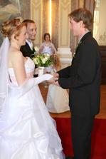 A první gratulant - svědek ženicha