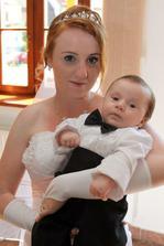 Nejmladší svatebčan Enrico :-)