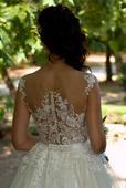 Romantické svadobné šaty - IVORY - 34, 34