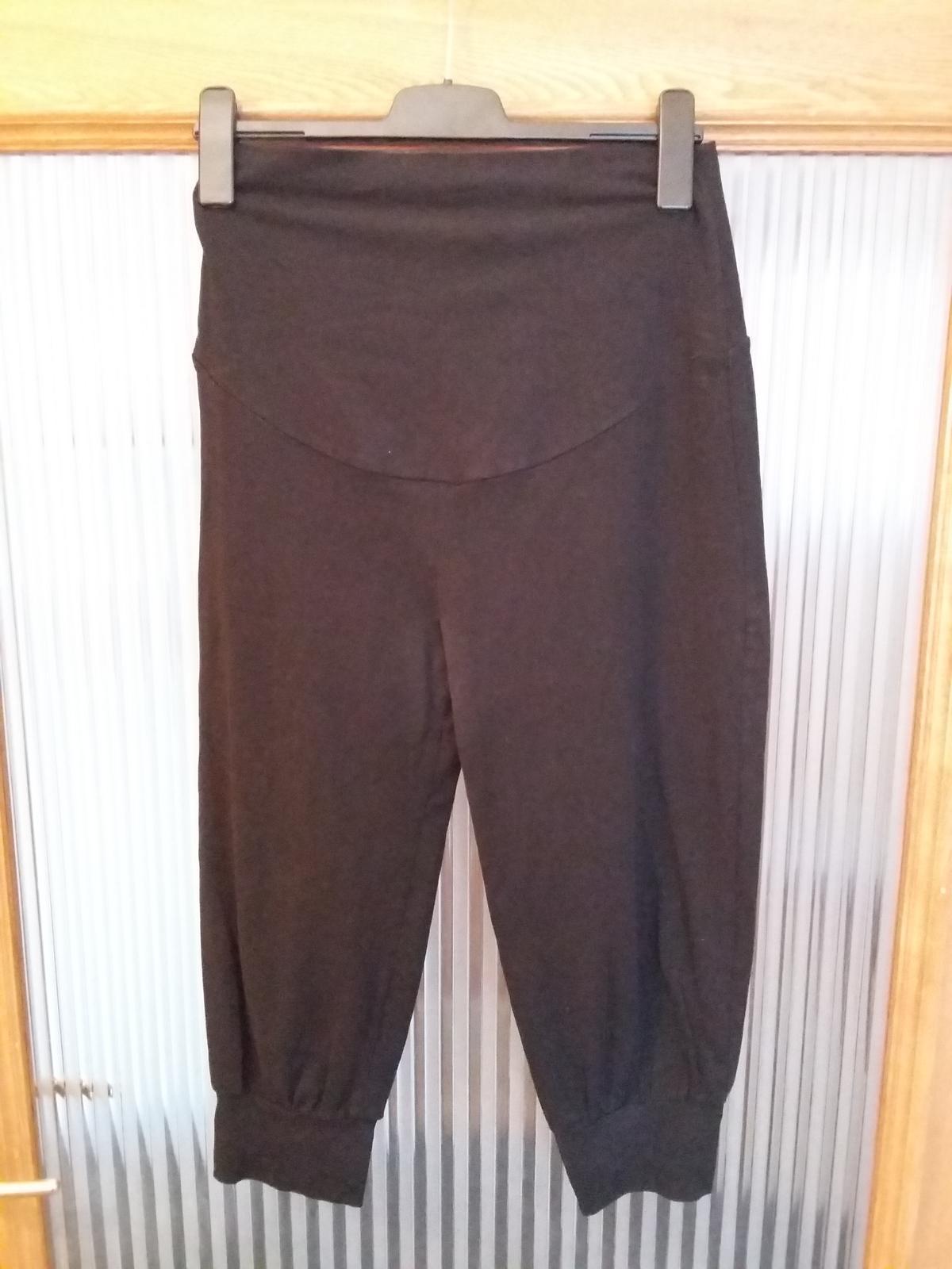 Těhotenské kalhoty vel. M - Obrázek č. 1