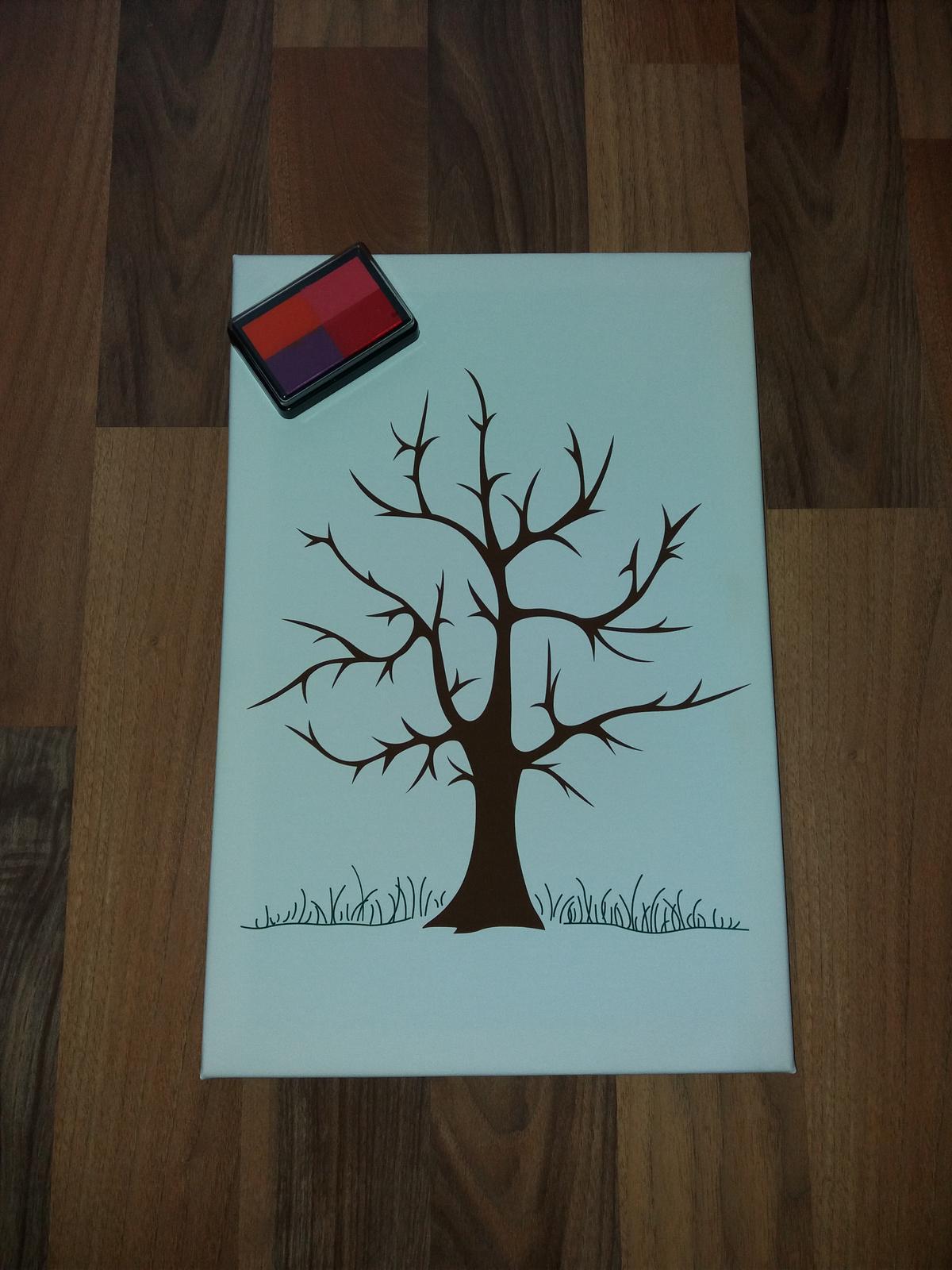 Svadobný strom s pečiatkou  - Obrázok č. 1