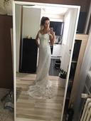 Boho styl - svatební šaty, 36