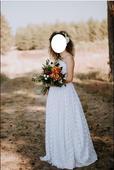 Ručne šité svadobné šaty, 38