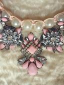 Kamienkový perlový náhrdelník,