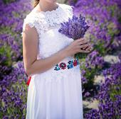 svadobné šaty s výstrihom na chrbate, 37
