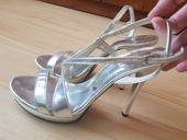 Stříbrné boty z Miss Colection, 40