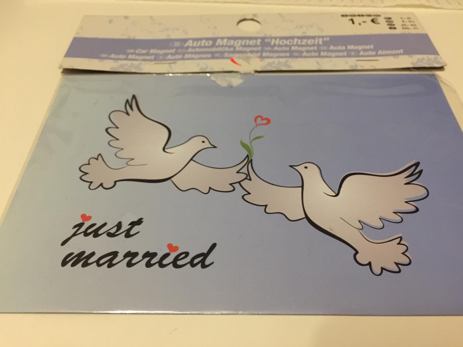 Svadobná magnetka - Obrázok č. 1