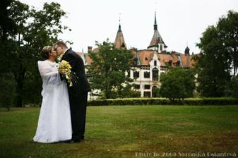 zamek Lesna a my dva