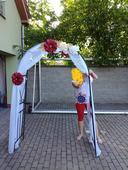 výzdoba na svatební bránu,