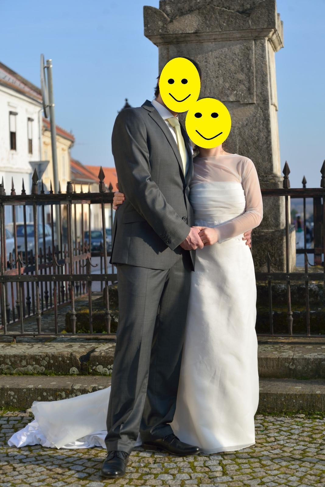 Svadobné šaty Rosa Clará - Obrázok č. 1