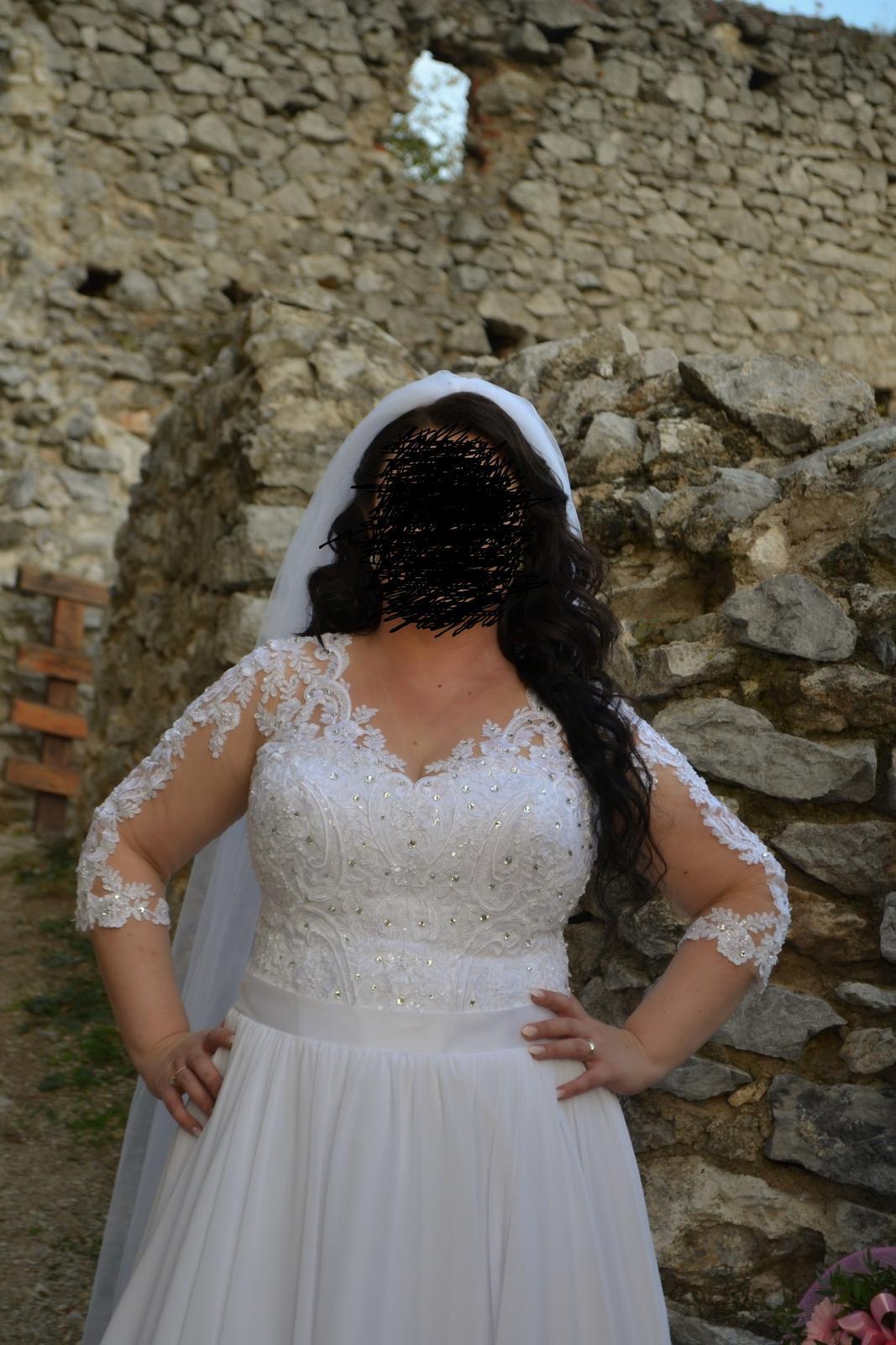 Svadobné šaty v. 46 od Natasha Azaryi - Obrázok č. 2