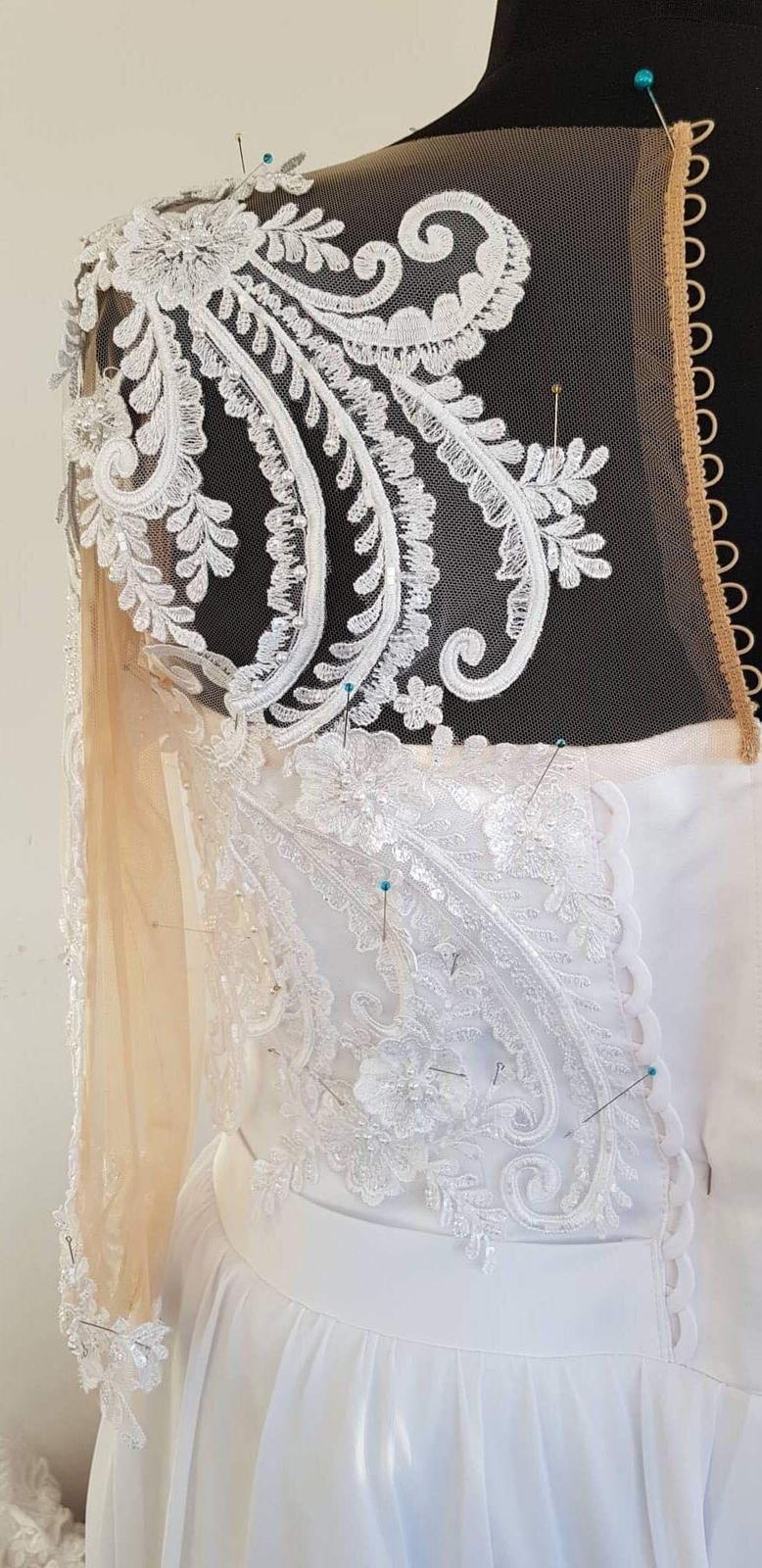 Svadobné šaty v. 46 od Natasha Azaryi - Obrázok č. 4